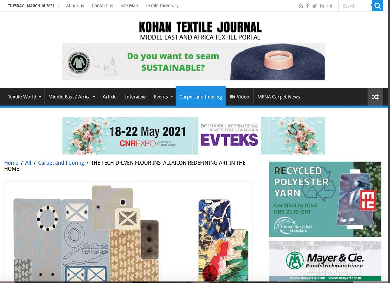 web ready - kohan textile journal